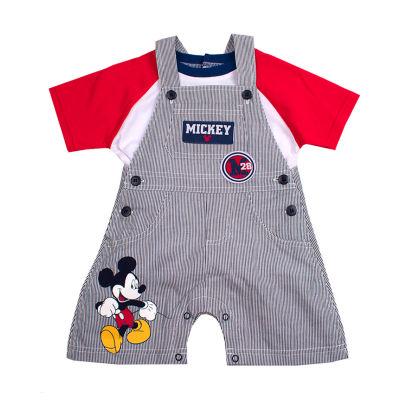 Disney Mickey Mouse Shortalls Boys