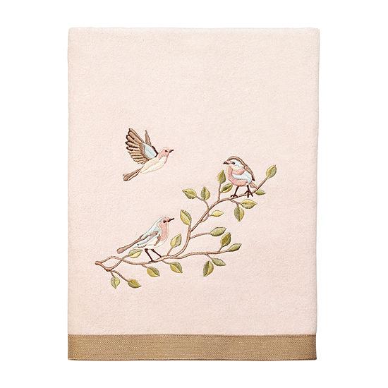 Avanti Bird Choir Ii Embellished Animal Bath Towel