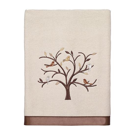 Avanti Friendly Gathering Ii Embellished Animal Bath Towel