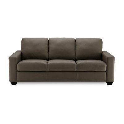 Leather Possibilities Track Arm Sofa