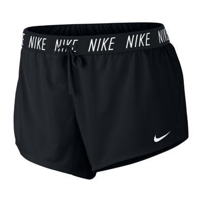 Nike Women's Mid Rise Attack Short - Plus