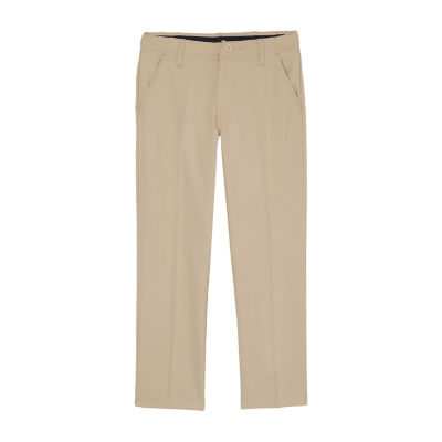 French Toast Straight Leg Performance Stretch Uniform Pant- Boys 4-20 R & Husky
