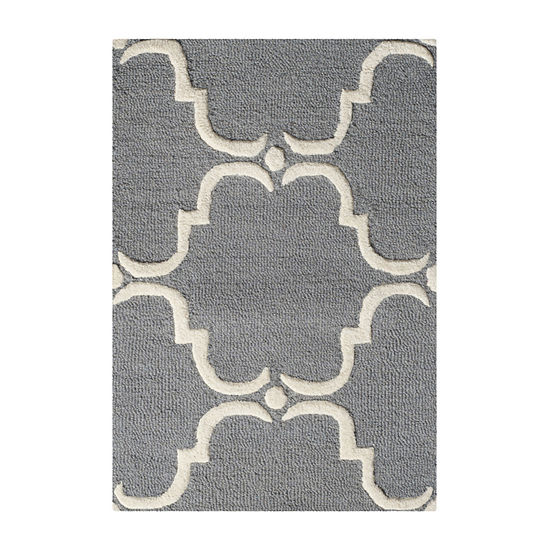 Safavieh Ronan Geometric Hand Tufted Wool Rug