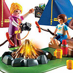 Playmobil campfire set