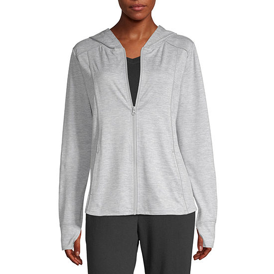 Xersion Womens Hooded Neck Long Sleeve Hoodie