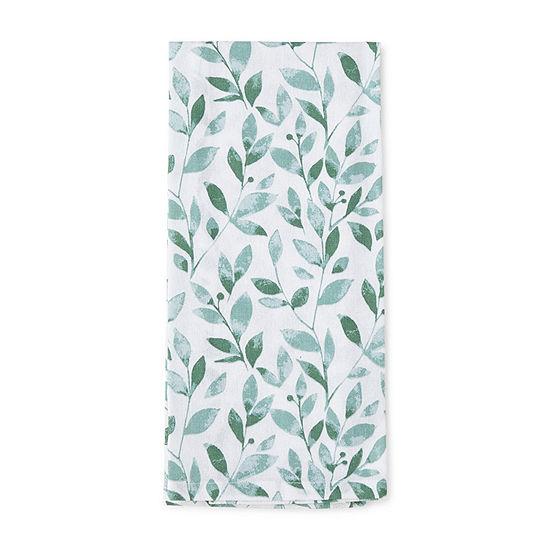 Everyday EleganceLaramie Leaves Kitchen Towel