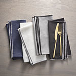 Loom + Forge Contrast Stitch 4-pc. Napkins
