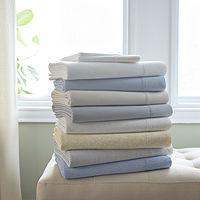 Fieldcrest 300-Thread Cotton Percale Sheet Set Deals