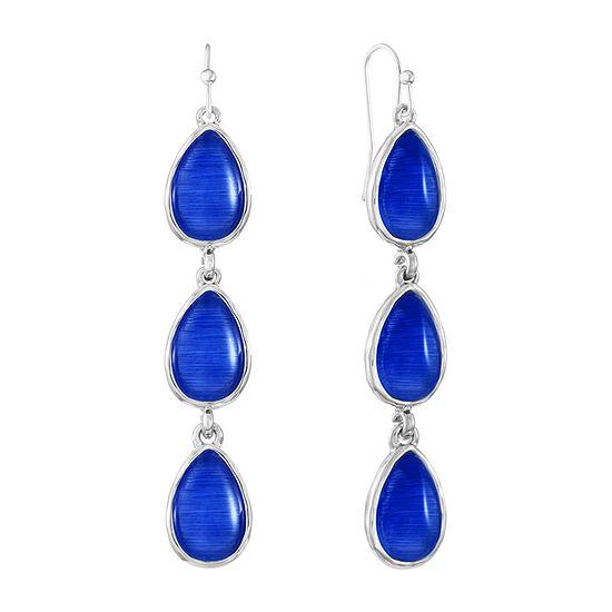 Liz Claiborne Pear Drop Earrings