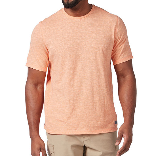 Free Country Quick Dry Mens Crew Neck Short Sleeve T-Shirt