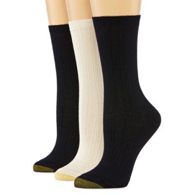 GoldToe® 3-pk. Trellis Socks