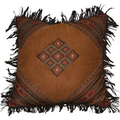 Croscill Classics® Payson Fringed Square Decorative Pillow