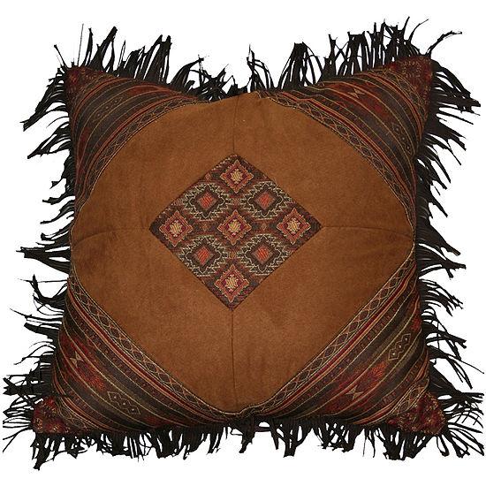 Croscill Classics?? Payson Fringed Square Decorative Pillow
