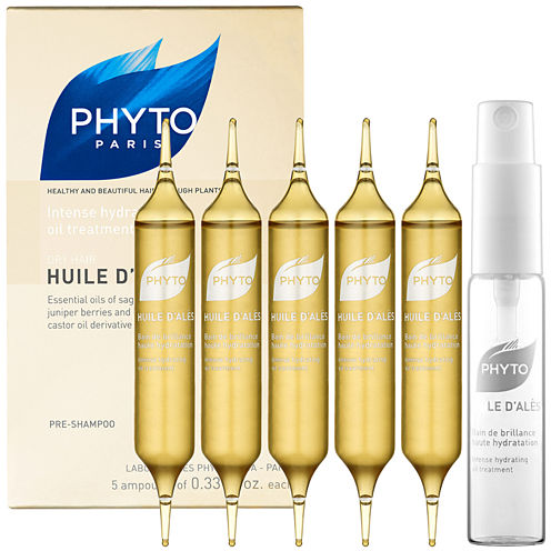 Phyto Huile D'Alès Dry Hair Intense Hydrating Oil Treatment