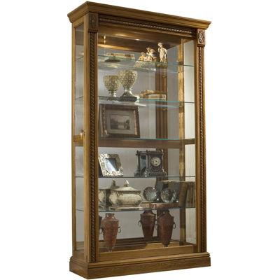 """Andover 43"""" Sliding Door Curio Cabinet"""