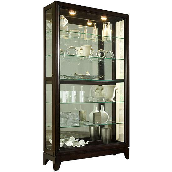 "Easton 46"" Sliding Door Curio Cabinet"