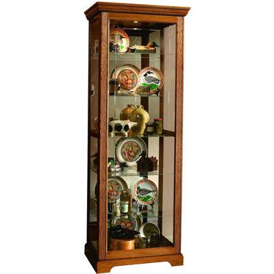 """Oakhurst 30"""" Sliding Door Curio Cabinet"""