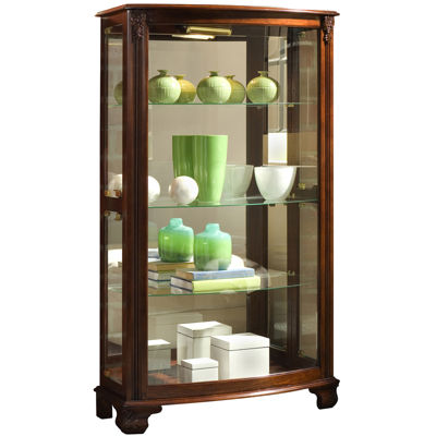 Beau Hopkins Mantle Curio Cabinet