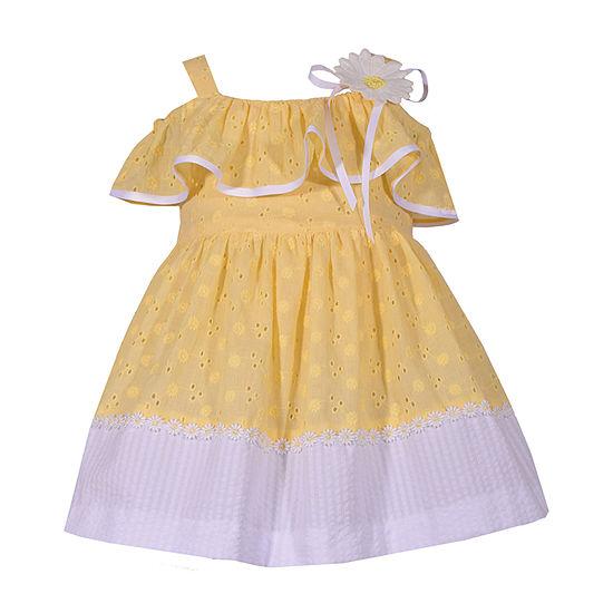 Bonnie Jean Girls Sleeveless A-Line Dress - Baby