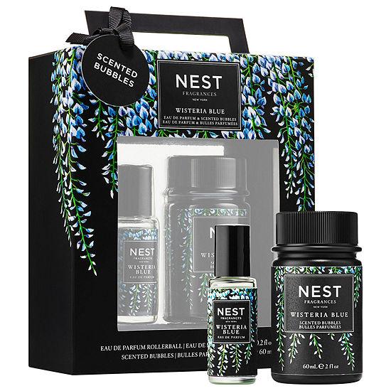 NEST  Wisteria Blue Eau de Parfum and Scented Bubbles