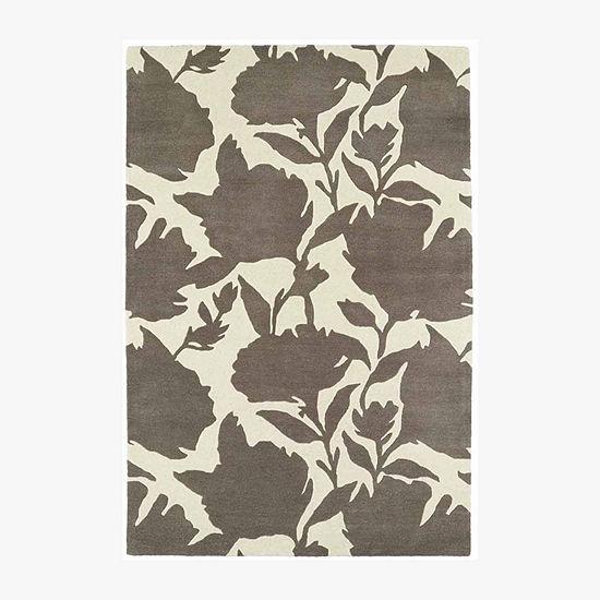 Kaleen Melange Floral Shadow Rectangular Rug