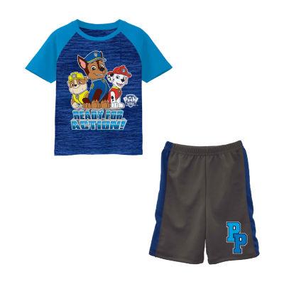 Nickelodeon 2-pc. Paw Patrol Short Set Toddler Boys