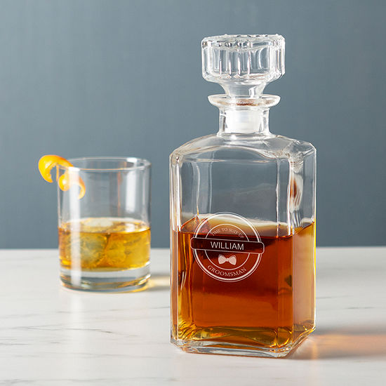 Cathy's Concepts Personalized 'Groomsmen' Decanter