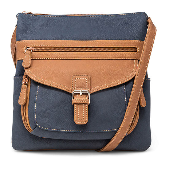 St. John's Bay Multi Contour Crossbody Bag