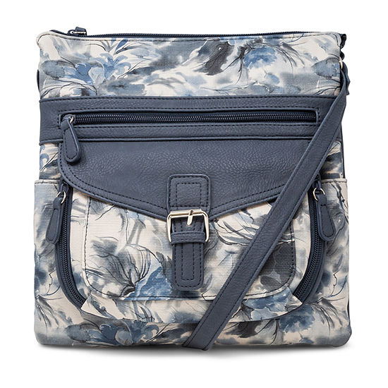 St. John's Bay Multi Contour Crossbody Bag