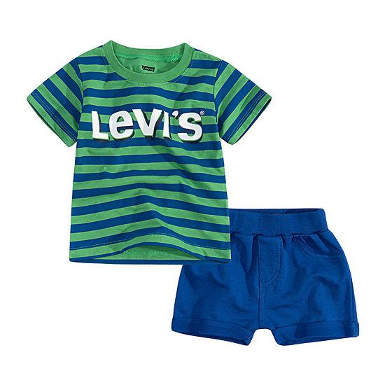 Levi's 2-pc. Short Set Toddler Boys