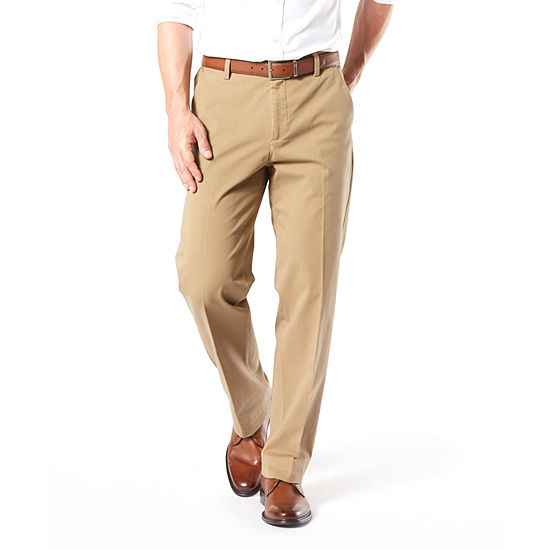 6166278f7d189a Dockers Classic Fit Workday Khaki Smart 360 Flex Pants D3 Flat Front  JCPenney