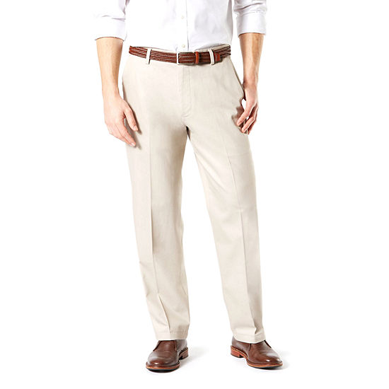 939474086 Dockers® Relaxed Fit Signature Khaki Lux Cotton Stretch Pants D4 - JCPenney