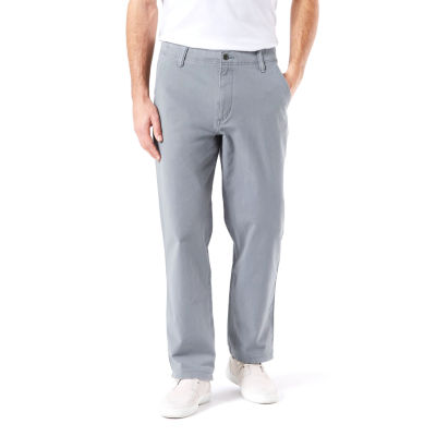 Dockers Downtime Khaki Mens Classic Fit Flat Front Pant