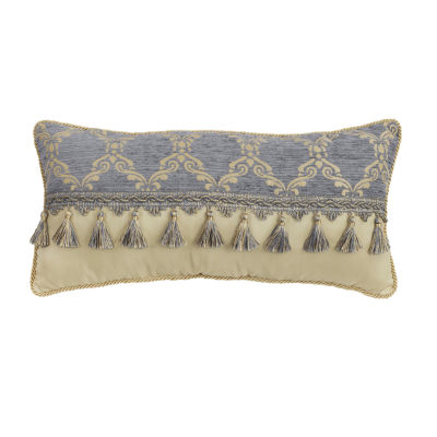 Croscill Classics Nadia 22X11 Boudoir Throw Pillow