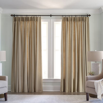 JCPenney Home Supreme Thermal Pinch-Pleat Curtain Panel