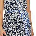 Danny & Nicole Sleeveless Floral Maxi Dress