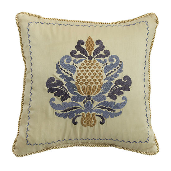 Croscill Classics Nadia 16x16 Square Throw Pillow