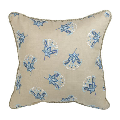 Croscill Classics Emery 16x16 Square Throw Pillow