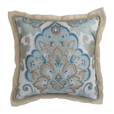 Croscill Classics Emery 18x18 Square Throw Pillow