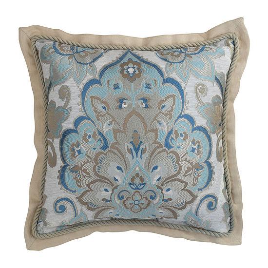Croscill Classics Emery 18x18 Square Throw Pillow