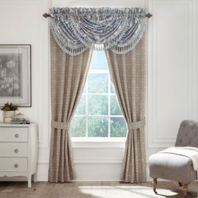 Croscill Classics Emery Rod-Pocket Curtain Panels