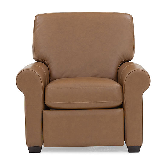 Leather Possibilities Roll Arm Chair