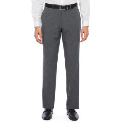 Van Heusen Air Charcoal Grid Slim Fit Suit Pants