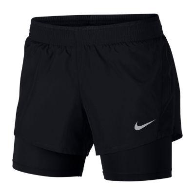 "Nike 10k 2in1 Short Womens Mid Rise 5"" Running Short"