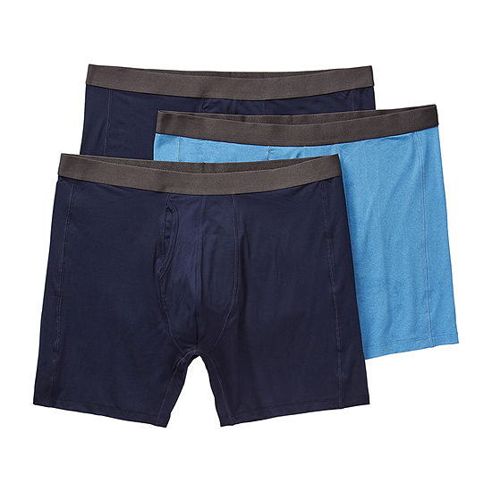 Stafford 3 Pack Boxer Briefs-Big