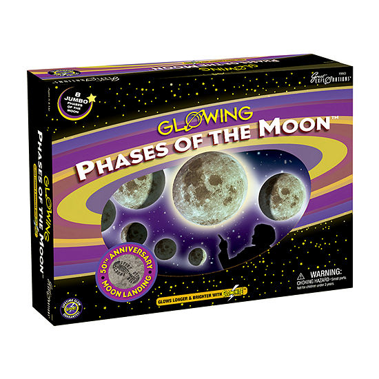 Great Explorations Glowing Phases Of The Moon Glow-In-The-Dark Model