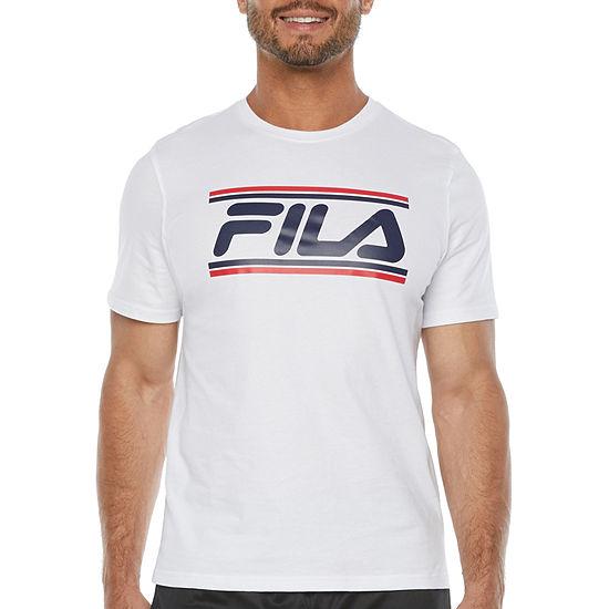 Fila Mens Crew Neck Short Sleeve T-Shirt