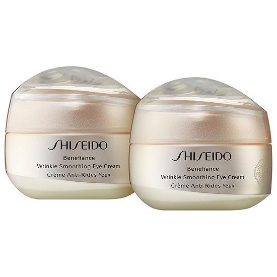 Shiseido Benefiance Wrinkle Smoothing Eye Cream Duo