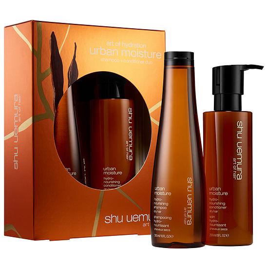 shu uemura Urban Moisture Hydro-Nourishing Shampoo and Conditioner Set for Dry Hair