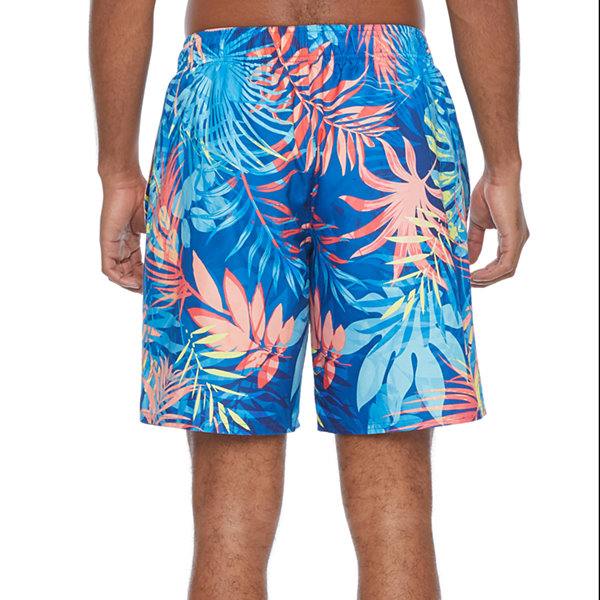 Peyton & Parker Mens Leaf Swim Trunks
